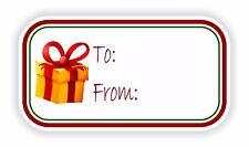 Regalo De Navidad Caja Vinilo Etiqueta Adhesiva Para / Madre Vacaciones