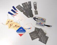 Lot 31 étiquettes bagages valise voyage Concorde Air France collection