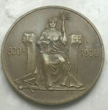 1930 Iceland 2 Kronur - Scarce Type