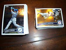 1996 1997 1999 2000 2001 2002 Topps Chrome & Update Baseball lot set pick 20 NM