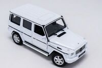 Welly 1:24 Mercedes Benz G-Class G55 G500 White Diecast Model Car New in Box