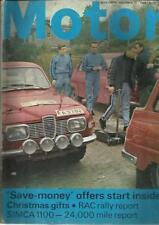 "November Motor Cars, 1960s Transportation Magazines"""