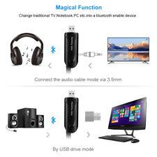 Wireless Bluetooth 4.1 Audio Transmitter Musik Stereo USB Adapter für TV DVD PC