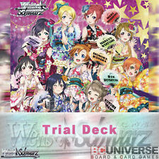 Love Live! feat.School Idol Festival (Japanese) Weiss Schwarz Trial Deck