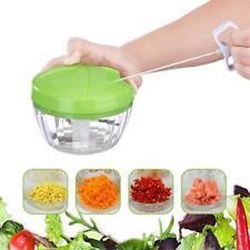 Food Speedy Chopper Spiral Slicer Shredder Fruit Vegetable Onion Cutter Blender