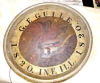Pre CIVIL WAR 95TH ILL. INFANTRY COMPANY K ANTIQUE HANDMADE 1820 wood