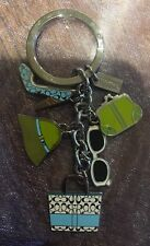 COACH Purse Handbag Shoe Keychain Charms RARE!