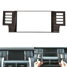 Wood Styl Car GPS Navigation Panel Cover Trim For Land Rover Discovery Sport 15+