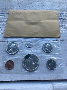 Canada 1962 Proof-Like Mint Set of Uncirculated Coin 1.1 oz Pure Silver