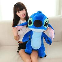 "24"" Giant Lilo Stitch Plush Soft Stuffed Animal Cartoon Baby Toy Doll Kids Gifts"