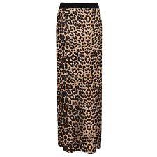 Womens Jersey Long Stretch Maxi Print Pattern Gypsy Summer Tube Skirt Dress
