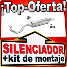 Silenciador Trasero TOLEDO OCTAVIA BORA GOLF IV 1.4 1.6 1.9SDI 97-07 Escape XYK