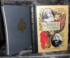 The Jubliee Years 1887-1897,  Roger Hudson - FOLIO SOCIETY -1996-  HB/SC bibslf
