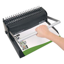More details for premium value comb binder manual quality binding machine binds up to 450 sheets