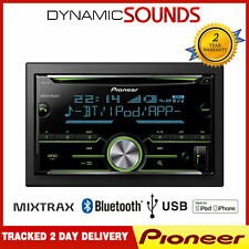 Pioneer FH-X730BT Bluetooth USB Ipod IPHONE Control Doble Din Radio de Coche