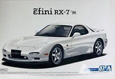 Aoshima 1/24 Mazda RX-7 Efini RX-7 '96 Plastic Model Kit 5158