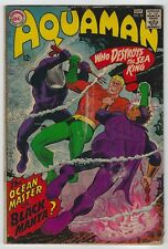 Aquaman #35 (1967, Dc) 1st App Black Manta, Bob Haney, Nick Cardy, Vg/Vg+