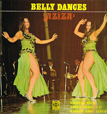 "LP 12"" 30cms: belly dances: aziza. VOS. G"