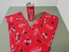New Mens Coca Cola Drawstring Sleep Lounge Pants.