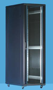 32U server rack cabinet 600D x 1600H comms rack Patch Panels Enclosure FLATPACK