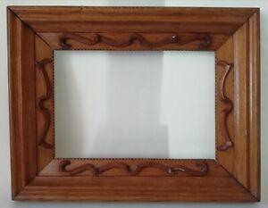 Cadre en bois pour Tableau 1er moitié XXème Dimensions intérieur : 27 x 18,5 cm.
