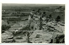 MT Montana Billings From East Rim Real Photo RPPC Unposted by Roahen