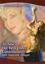 All New Hot Belly Dance Combinations with Ansuya - Belly Dancing DVD Video