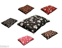 LARGE BIG DOG BED PET MAT PAD QUILT FILLED WITH ZIP ZIPPED COVER