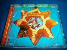 FLAMING LIPS This Here Giraffe STAR SHAPED DISC 3 trak PROMO CD Single LIVE PEEL
