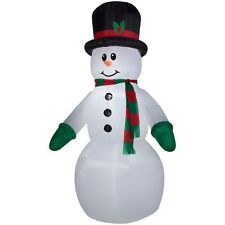 Airblown Inflatable-Snowman Giant 10ft tall by Gemmy Industries Christmas Decor