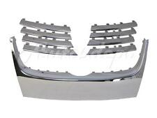 FOR 2005-2010 VOLKSWAGEN JETTA GEN5 GRILLE MOULDING TRIM KIT CHROME