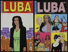 LUBA #1 2 Love and Rockets Gilbert Hernandez Fantagraphics 1998 1st Printing