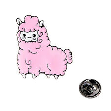Cute Lovely Cartoon Pink & Blue Sheep Metal Brooches Brooch Bouquet Pin Gift