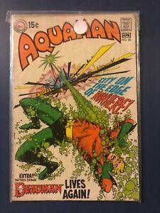 Aquaman #50 DC Comics 1970 Skeates Aparo Deadman Neal Adams VG Arthur Curry