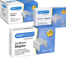 More details for rapesco staples all sizes high quality - for all types of staplers tackers