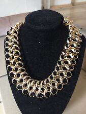 35mm Widest Adjust L 3D Aluminum Collar Chunky Necklace, Lady Birthday Xmas Gift