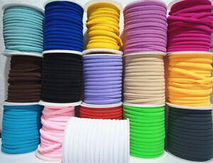 1mt nastrino fettuccia lycra elastico cucito per bracciale collana vari colori