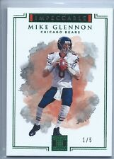 Mike Glennon 2017 Impeccable Football - #1/5 SSP - First One Made - Ebay 1/1