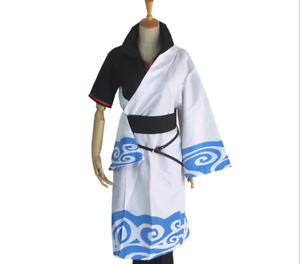 Anime Gintama Cosplay Costumes Sakata Gintoki Cosplay Uniform Halloween Party