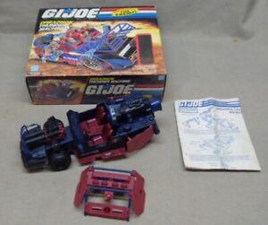GI Joe 1986 UN BATEAU Dreadnok Thunder Machine Porte Côté Droit Original