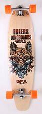 """GFX Kicktail Longboard Skateboard 40"""" x 9.75"""" Complete"""