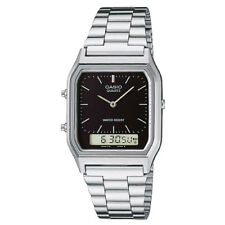 Casio Aq-230a-1dmqyes Small Unisex Combi Bracelet Watch