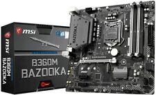 MSI Intel Coffee Lake B360 LGA 1151 DDR4 Micro ATX Motherboard B360M Bazooka