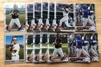 Yusniel Diaz x60 LOT 17/18/19 Bowman (CHROME) Baltimore Orioles RC