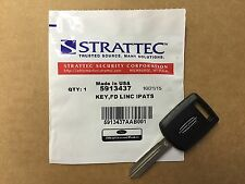 New OEM Strattec Lincoln Transponder Key Blank 80-Bit 164-R8080 5913437 USA SHIP