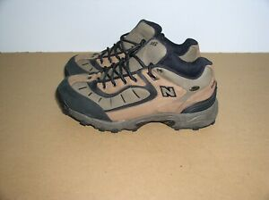New Balance 962 Mid Top Lace Up Waterproof Hiking Boots Size 9,4E,Brown,Mint