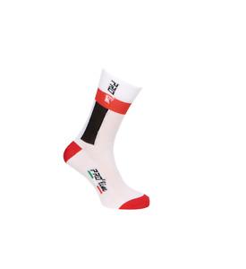 PRO' line Calze Calzini Ciclismo Team Edition Nero Bianco Cycling Socks 1 paio