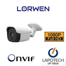 LORWEN IP CAMERA ONVIF WP6518TC 1080P BULLET HD IP66 H265 H264 1080P CAM 3MPX