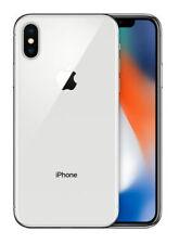 Téléphones mobiles argentés Apple Apple iPhone X