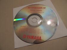 YAMAHA YFM 350 R-W Raptor 1997-07 MANUEL D 'ATELIER SHOP MANUAL manuel atelier